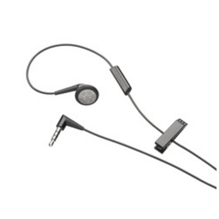 Blackberry Mono Headset, 2nd Generation, 3.5 mm, čierne