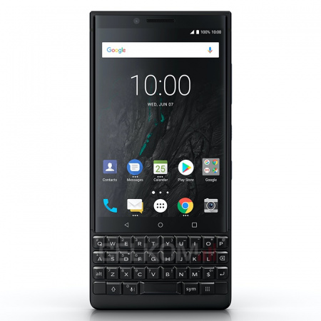 BlackBerry KEY2 64GB, Čierna (QWERTY)