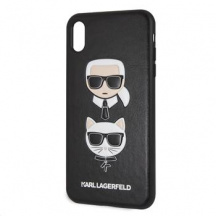 Pouzdro Karl Lagerfeld Karl and Choupette pre Apple iPhone XS Max