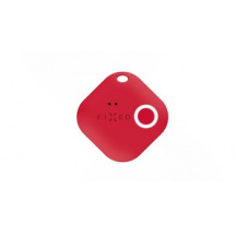 Sledovací Bluetooth přívěsek FIXED Key Finder Smile s motion senzorom, Červená