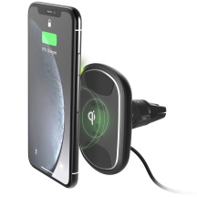 iOttie iTap Wireless 2 Fast Charging Magnetic Vent držiak do ventilacie, Čierna (HLCRIO138)