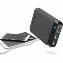 Powerbanka CellularLine PowerUp USB-C, 10 000 mAh, Čierna