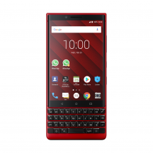 BlackBerry KEY2 128GB, Červená (Dual-SIM, QWERTY)
