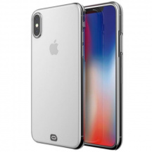 Silikónový kryt Odzu Crystal Thin Case pro Apple iPhone X, Číra