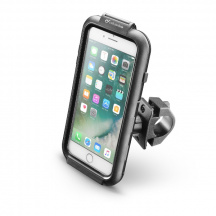Puzdro na bicykel/motocykel CellularLine Interphone iCase Holder pre Apple iPhone 6/6s/7 Plus, Čierna