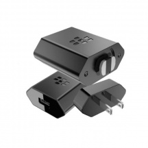 Originálná nabíjačka BlackBerry Rapid Charger NA + UK - Quick Charge 2.0 (ACC-62177-001+62711-003)