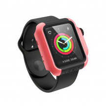 Odolné Puzdro Catalyst Impact Protection Case pre Apple Watch 2/3 38 mm (CAT38DROP3COR), Coral
