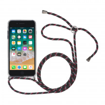 Puzdro StilGut® Lanyard so šnúrkou pre Apple iPhone 7/8 Plus, Číre